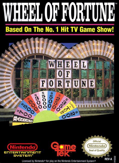 fortune wheel nes nintendo box vanna game play 1988 games covers 1992 gametek featuring sega front retrogameage snes system artwork