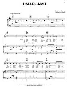 Hallelujah sheet music by Kate Voegele (Piano, Vocal