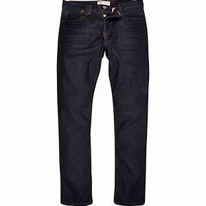Dark wash Dylan slim jeans - slim jeans - jeans - men