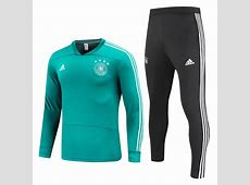 Germany 2018 FIFA World Cup Green Training Suit Shirt