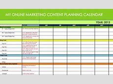 Online Marketing Content & Message PlannerSynchronicity