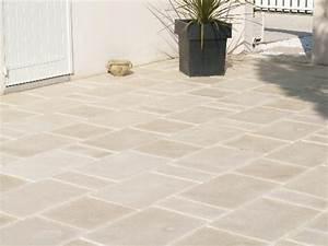 Dosage Beton Terrasse : pose de dalle beton ~ Premium-room.com Idées de Décoration