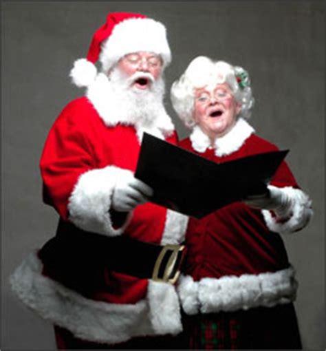 singing santa claus mrs claus audio sles