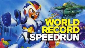 Mega Man X World Record Speedrun | Artistry in Games
