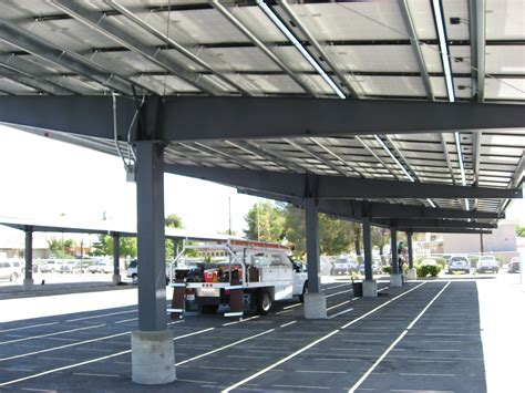 steel carports solar structures pascal steel buildings