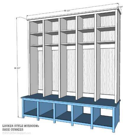 how to build a mudroom bench with cubbies that s my letter locker style mudroom shoe cubbies