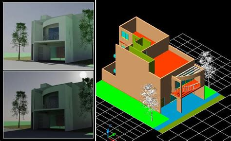 housing  plants  dwg model  autocad designs cad