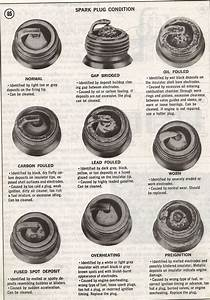 Spark Plugs Diagram On Newsprint  Arthur Clipped This From