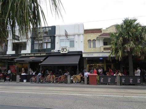 cake shops acland street picture  st kilda beach