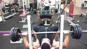 Greatsak - Max Reps On 100kg Bench Press  82kg Body Weight