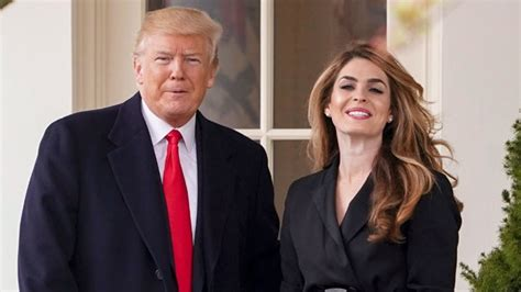 Hope Hicks Returning to Trump White House