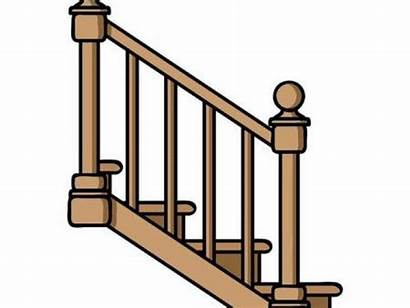 Clipart Railing Staircase Stairs Clip Webstockreview Clipground