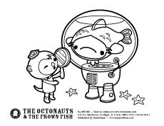 Captain Barnacles Coloring Pages - Sanfranciscolife