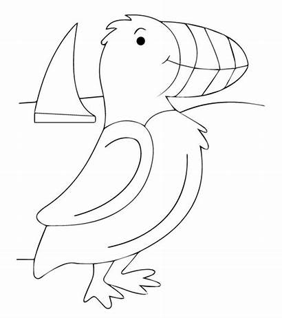 Coloring Puffins Puffin Animals Rock Toddlers Momjunction