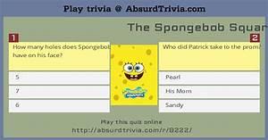 The Spongebob Squarepants Trivia Quiz