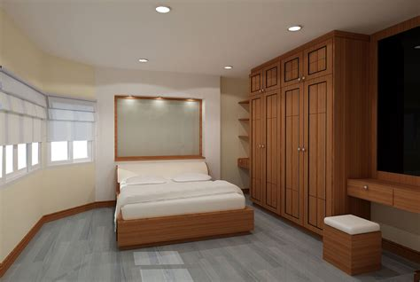 extraordinary bedroom with wood closet furniture