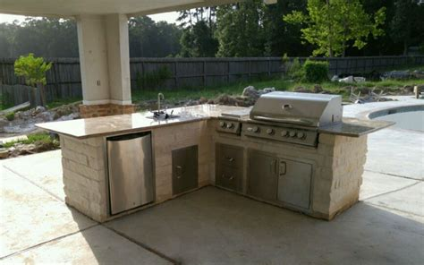 outdoor kitchen island houston tx outdoor kitchen