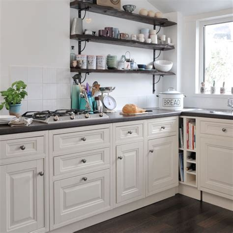 kitchen open shelves ideas open shelving country kitchen ideas housetohome co uk