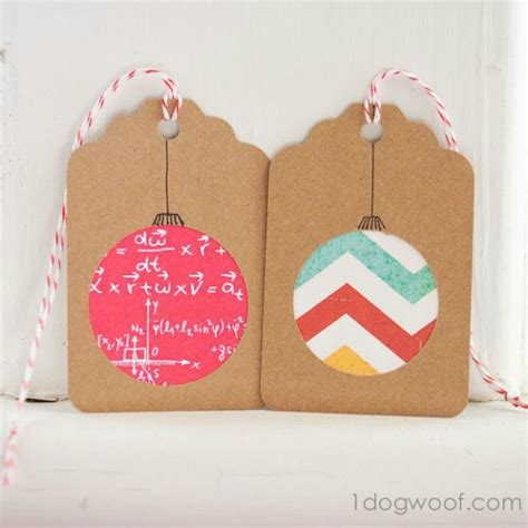 22 awesome diy gift tags for the gift giving