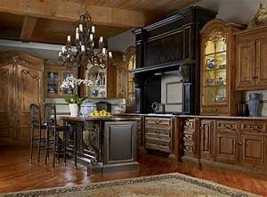 alluring tuscan kitchen design ideas with a warm With kitchen cabinets lowes with old world metal wall art