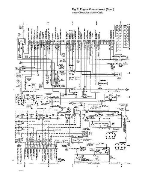 85 Monte Carlo Wiring Diagram by 1995 Chevrolet Monte Carlo Complete Wiring Diagrams