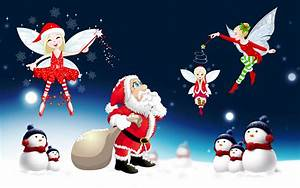 Merry Christmas Santa Claus Desktop Hd Wallpaper For ...