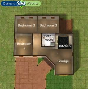 bungalow floor plans bungalows and sims on pinterest