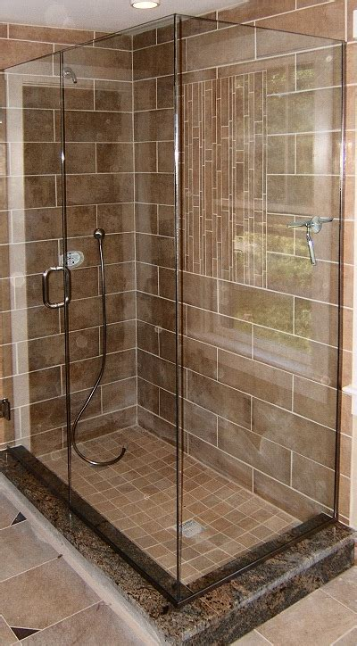 Shower Base With Bench by Tiled Showers