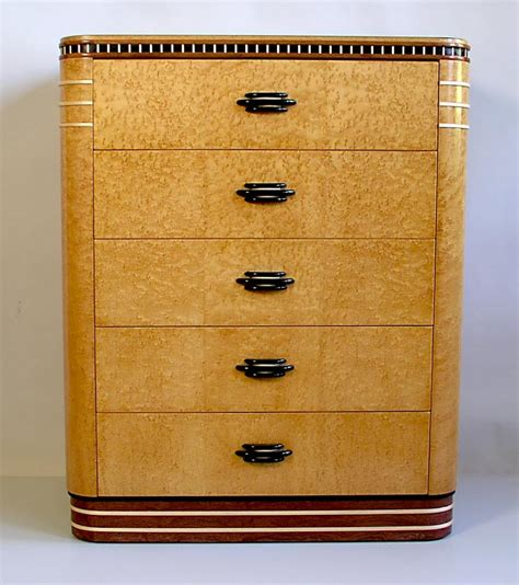 birdseye maple highboy dresser birdseye deco dresser