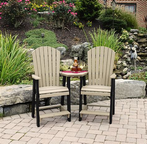 leisure lawns poly balcony settee from dutchcrafters amish