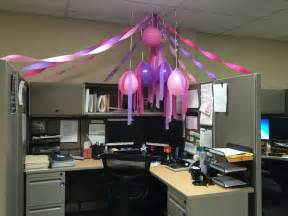 birthday cubical cubicle birthday decor birthdays