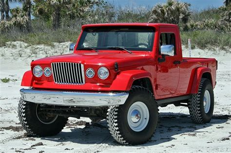 long illustrious history  jeep pickup trucks top speed