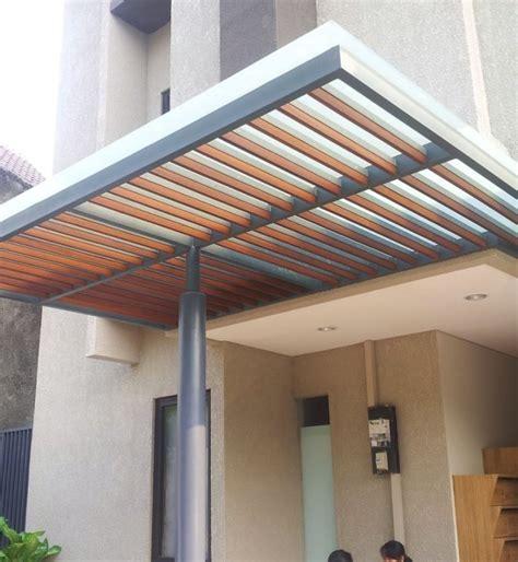 model kanopi baja ringan  garasi rumah inspirasi