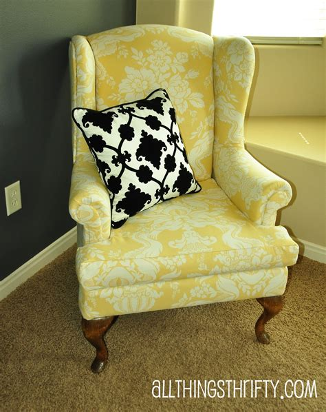 How To Upholster A Chair by Upholstering A Wing Back Chair Upholstery Tips