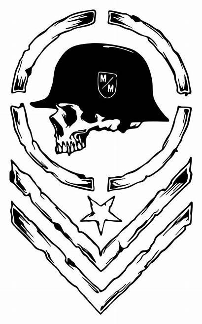 Mulisha Metal Coloring Pages Vinyl Skull Decal