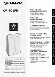 Sharp Cv Po 09fr Air Conditioner Download Manual For Free