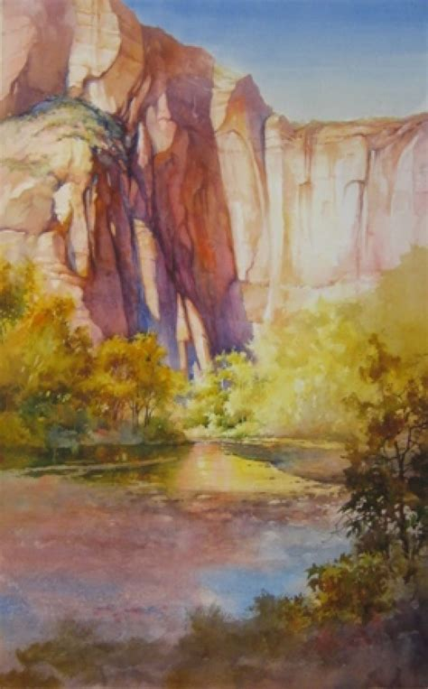 Watercolor Painting Demonstration Step-by-step Painting ...