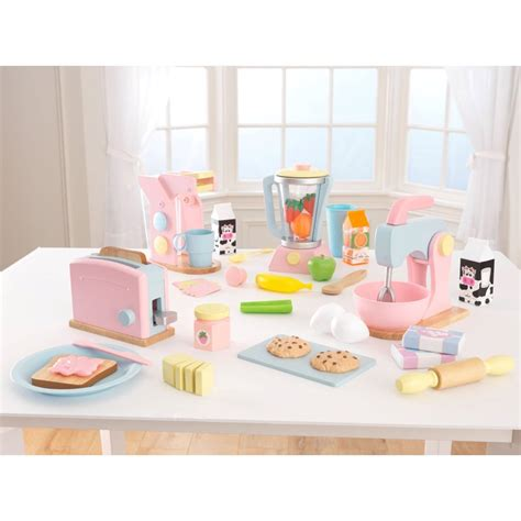 Kidkraft 4 Pack Pastel Play Kitchen Accessories  Play
