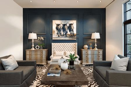 lounge feature wall interior design decorating ideas