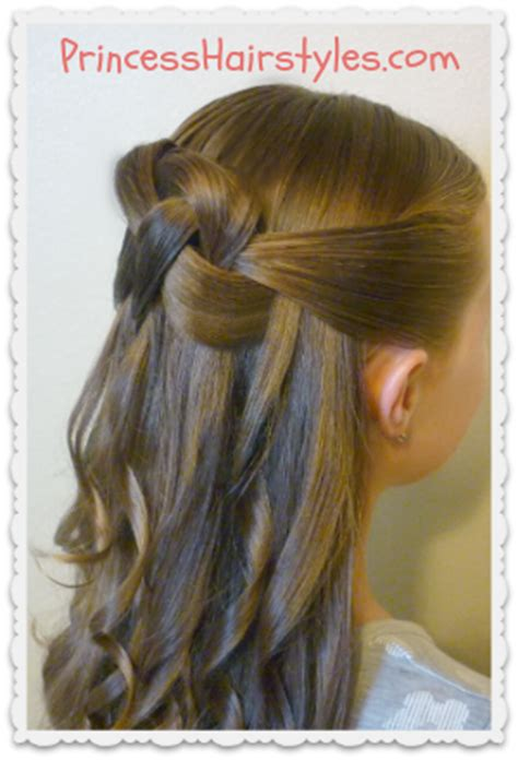 woven knot   hairstyle hairstyles  girls