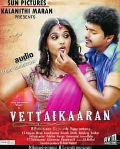 Vettaikaran Audio Launch posters
