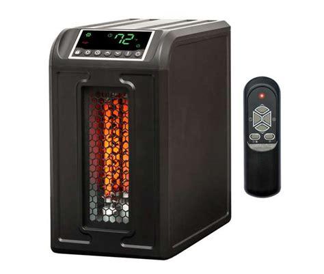 lifesmart 3 element 1500w infrared space heater ls
