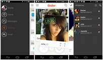 """Tinder """"dating"""" app for Android updated with new UI and ..."""