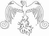Phoenix Coloring Pages Bird Pheonix Drawing Simple Printable Sheet Tattoo Swirly Adult Sketch Wordpress Getdrawings Getcolorings Colorings sketch template