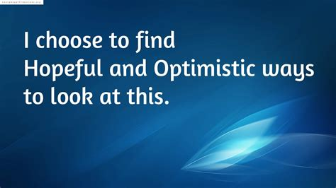 positive affirmations   feel hopeless