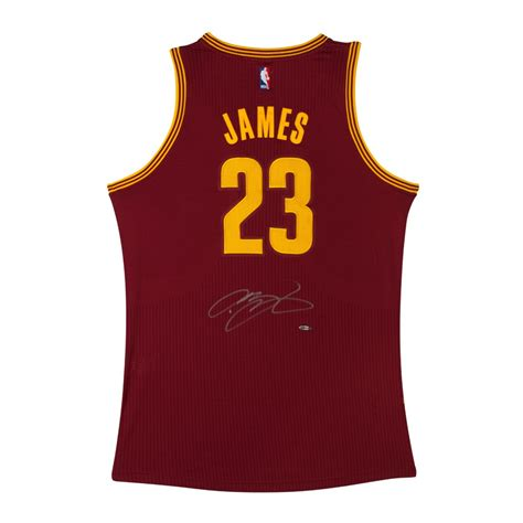 authentic maroon lebron signed cleveland cavaliers authentic adidas