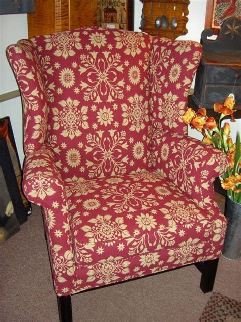 17 best images about primitive upholstered chairs on