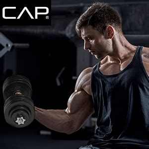 Amazon.com : CAP Barbell 40-Pound Adjustable Dumbbell