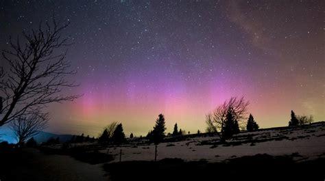 des aurores boreales observees dans le ciel de la france