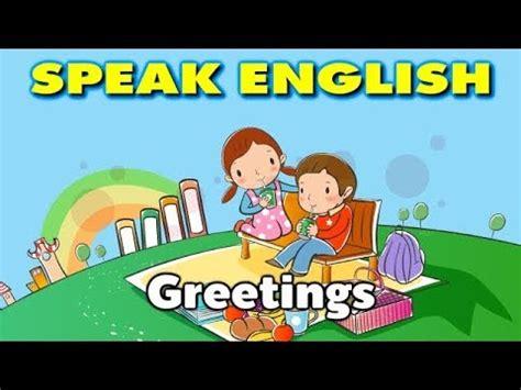 greeting  introducing  english speaking